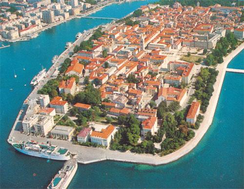 Dalmaçya kıyıları : Zadar