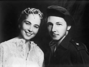 Vilma Espín and Raúl