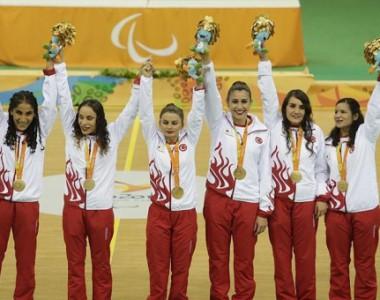9 Altın Kızın başarısı .. Golbol Olimpiyat şampiyonu