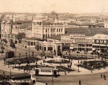 Taksim Cumhuriyet Anıtının hikayesi