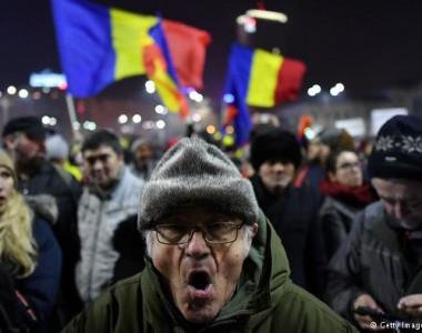 Romanya protestoları ve istifalar