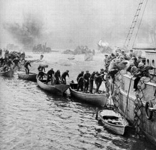 Dunkirk Tahliyesi …