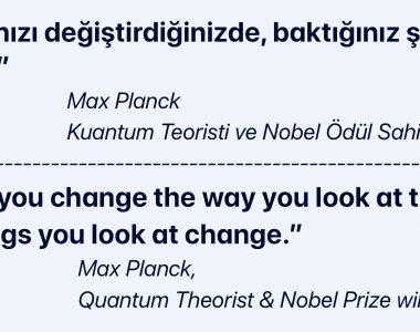 Bakış açısını değiştirmek ..